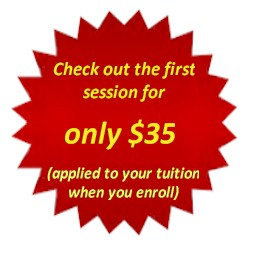 Try the first session for only